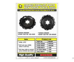 Cosmic Forklift Parts New No 357 Plate Input