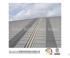 Industrial Aluminum Roof Walkway For Huge Construction