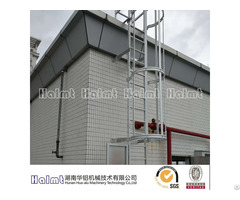 Single Section Aluminum Fixed Step Ladder For Building
