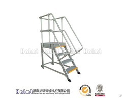 Easily Movement Aluminum Platform Steps For Factory