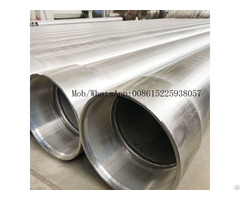 Api 9 5 8 Stainless Steel Water Oil Well Casing Pipe With Btc Connection