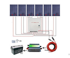 600w Off Grid Poly Solar Panel System For Charging 12 24v Equipment