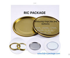 Paint Cans Component Tinplate Components Containers