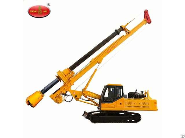 Diesel Crawler Excavator Mounted Vibratory Pile Driver