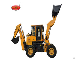 Construction Tunnel Mini Hydraulic Wheel Backhoe Loader
