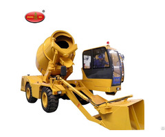 Fm3 5 3 Mobile Self Loading Concrete Mixer For Sale