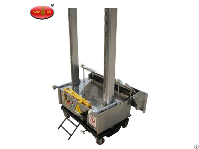 Automatic Adhesive Plastering Machine For Wall