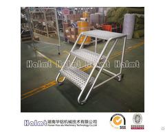 Aluminum 4 Steps Industrial Ladder