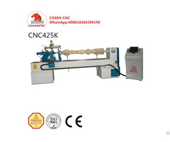 Cosen Cnc Wood Lathe Machinery For Turning And Engraving