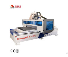 Cosen Woodworking Atc Cnc Router With Boring Group