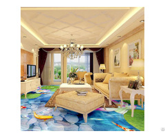 Bedroom Bathroom 3d Floor Clear Epoxy Paint