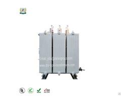Grade 10kv Winding Core Oil Immersed Transformer S13 Mrl 30 To 6100