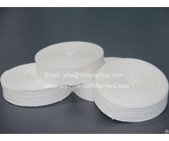 Electrical Insulation Material Cotton Herringbone Tape For Motor Transformer