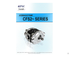 Cosmic Forklift Parts On Sale 345 Cpw Hydraulic Pump Cfs2 Series Catalogue Size