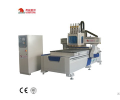 Cosen Cnc Woodworking Router With Four Heads For Furniture