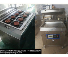Multepak Vacuum Skin Packing Machine For Salmon Fish Seafood