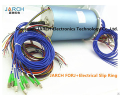 Jarch 8 Channels Forj Fiber Optic Rotary Joint 6 Circuits Electrical Slip Ring In Rov Technical
