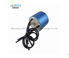 Jarch 3 Circuits 200a High Current Slip Ring Shaft Mounted Used Crane Through Bore Connectors