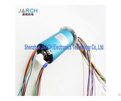 Air Rotary Joint Union 2 Wires 36 Circuits Sealedelectrical Pneumatic Slip Ring Manufacturer