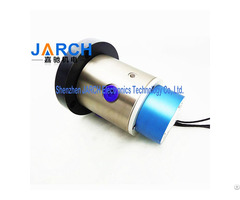 Speed 30rpm Signal Hybrid Slip Rings With Pneumatic Oil Aluminium Alloy Hydraulic Rotary Joint