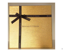 Golden Art Paper Cardboard Boxes