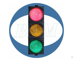 Dia 200mm Red Yellow And Green Ball With Clear Lens Led Traffic Light