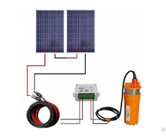 200w 24v Solar Pump System With Mounting Kits For Water Fountain