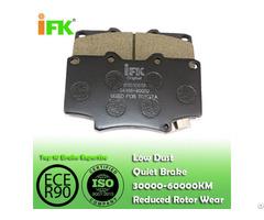 Semi Low Metallic Nao Ceramic 0446560020 Gdb1154 D502 Disc Brake Pad Manufacturer