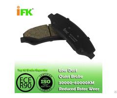 Semi Low Metallic Nao Ceramic Ik2710068 Disc Brake Pad Manufacturer