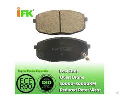 Semi Low Metallic Nao Ceramic 581011ha00 Gdb3450 D1397 Disc Brake Pad Manufacturer