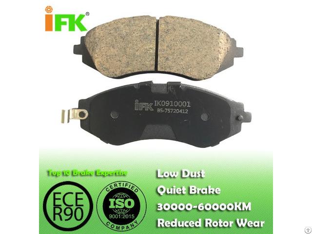 Semi Low Metallic Nao Ceramic 96319060 Gdb3171 D797 Disc Brake Pad Manufacturer