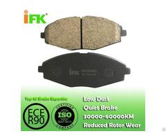 Semi Low Metallic Nao Ceramic 96316582 Gdb3195 D1321 Disc Brake Pad Manufacturer