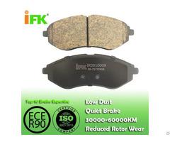 Semi Low Metallic Nao Ceramic 96534653 Gdb3330 D1269 Disc Brake Pad Manufacturer