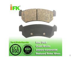 Semi Low Metallic Nao Ceramic Disc Brake Pad Manufacturer