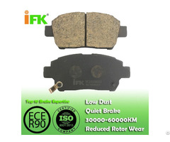 Semi Low Metallic Nao Ceramic 0446552010 Gdb3242 Gdb7075 D822 D990 Disc Brake Pad Manufacturer