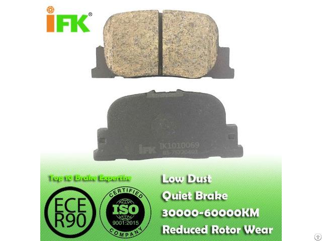 Semi Low Metallic Nao Ceramic 0446632030 Gdb3278 D835 Disc Brake Pad Manufacturer