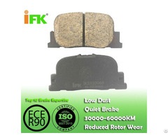 Semi Low Metallic Nao Ceramic 0446632030 Gdb3278 D835 Disc Brake Pad Manufacturer