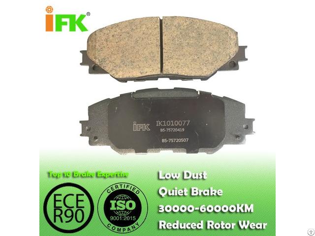 Semi Low Metallic Nao Ceramic0446542140 Gdb3424 Gdb7764 D1211 Disc Brake Pad Manufacturer