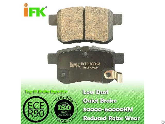 Semi Low Metallic Nao Ceramic 43022tl1g01 Gdb3482 Gdb7770 D1336 D1451 Disc Brake Pad Manufacturer