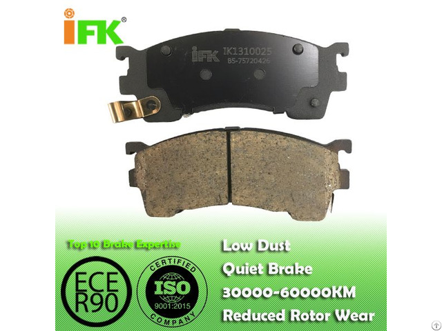 Semi Low Metallic Nao Ceramic G5y63323z Gdb1139 D637 Disc Brake Pad Manufacturer