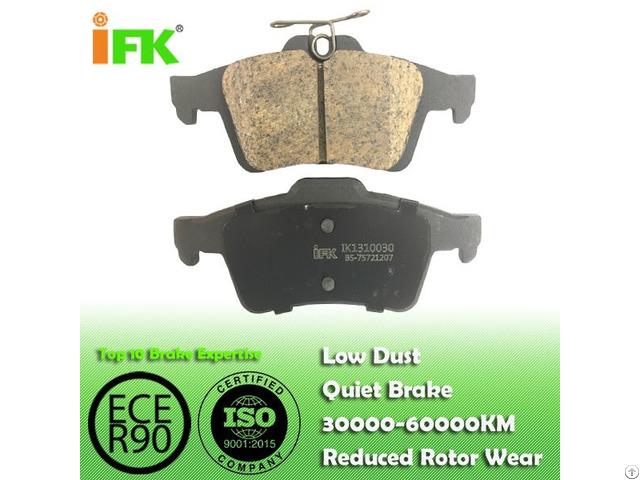 Semi Low Metallic Nao Ceramic Bpyk2648zb Gdb1621 D1095 Disc Brake Pad Manufacturer
