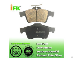Semi Low Metallic Nao Ceramic Bpyk2648zb Gdb1621 D1095 Disc Brake Pad Manufacturer