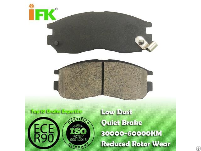 Semi Low Metallic Nao Ceramic Mr205256 Gdb1286 Disc Brake Pad Manufacturer