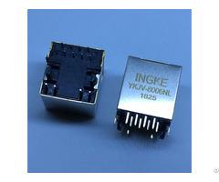 Ykjv 8006nl Jd2 0010nl 1 Port Vertical Rj45 Magnetic Modular Jacks 10 100 Base T Automdix