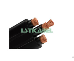 Flexible Crane Flat Cable For Power And Control Supply