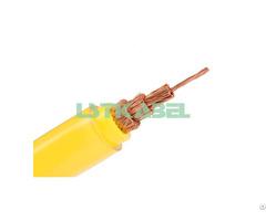 Pvc Flexible One Core Welding Cable