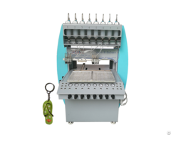 Pvc Rubber Keychain Dispensing Machine