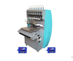 Automatic 8 Color Making Pvc Key Chain Dispenser Machine