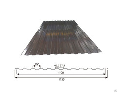 Corrugated Steel Roofing Sheet Trapezoid 10 100 1100
