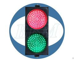 Dia 200mm Red And Green Ball With Clear Lens Led Traffic Light